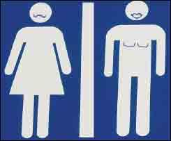 """The more """"organic"""" gender-inclusive signage for Vienna's public square"""