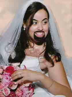 He's Jesus' bride?