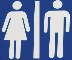 "One of Vienna's new ""gender-neutral"" signs"