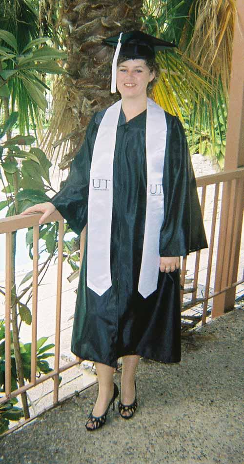 Alexa graduates from UT Austin